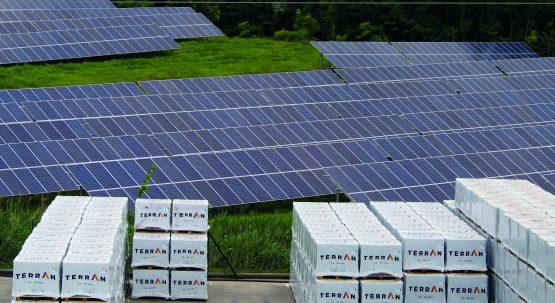 Átadásra került a bólyi üzemünk ellátására szolgáló napelemes erőmű