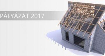 Tetőfedő pályázat 2017