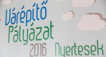 Várépítő pályázat 2016